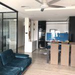 Cho thuê căn hộ Garden Gate 2PN 85m2, full nội thất, tầng cao view công viên, hướng mát giá 22t