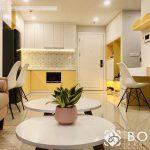 Cho thuê Căn hộ nội thất mới 100%, 1PN-56m2- Chung cư Botanica Premier-Tân Bình. Giá 16tr/th