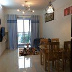 Cho thuê căn hộ Nội thất đẹp-mới 100% -2pn. Golden Mansion, view hồ bơi nội khu. Giá 18tr/th (bao phí)