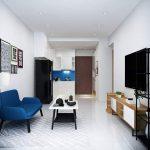 Cho thuê NHANH căn hộ 2PN Golden Mansion, đầy đủ nội thất, dt 75m2. Giá 17 triệu
