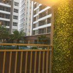 Cho thuê căn hộ gần sân bay Golden Mansion 2 phòng ngủ, full NT, view công viên – 17tr/th