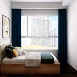 Cần cho thuê căn 2PN đầy đủ nội thất tại Golden Mansion, tháp GM3, view mát. Giá 17 triệu