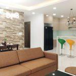Cho thuê CC Golden Mansion, DT 75m2, 2PN, 2WC, full nội thất, 17 triệu/tháng.
